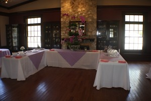 Buffet Tables